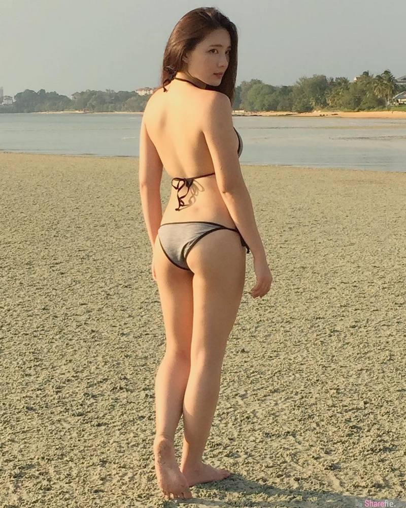 菲律宾正妹 Christine Co 蜜腿微肉感 网:这个肉度刚好