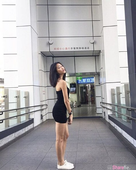 台湾运动正妹Patty,超强腹肌翘臀94狂