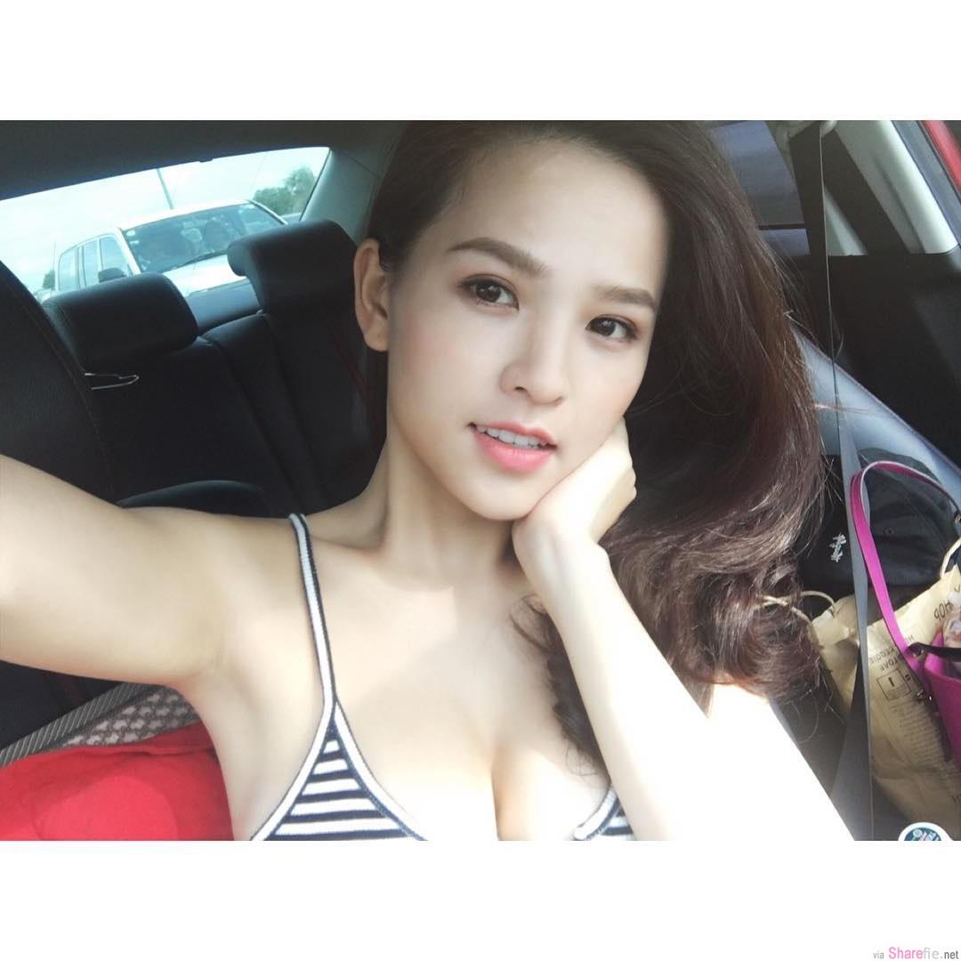 越南正妹 Trang Phi 雪白嫩肤 网:想帮你擦防晒油