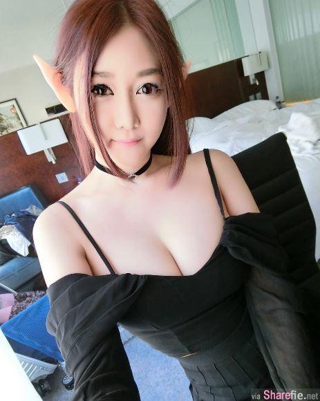 新国34E奶正妹Naomi Liu令人激情四射