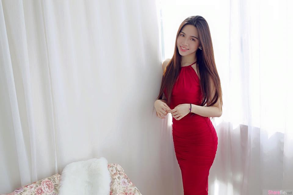 大马槟城正妹Rickho,超正脸蛋清新气质,网:我恋爱了