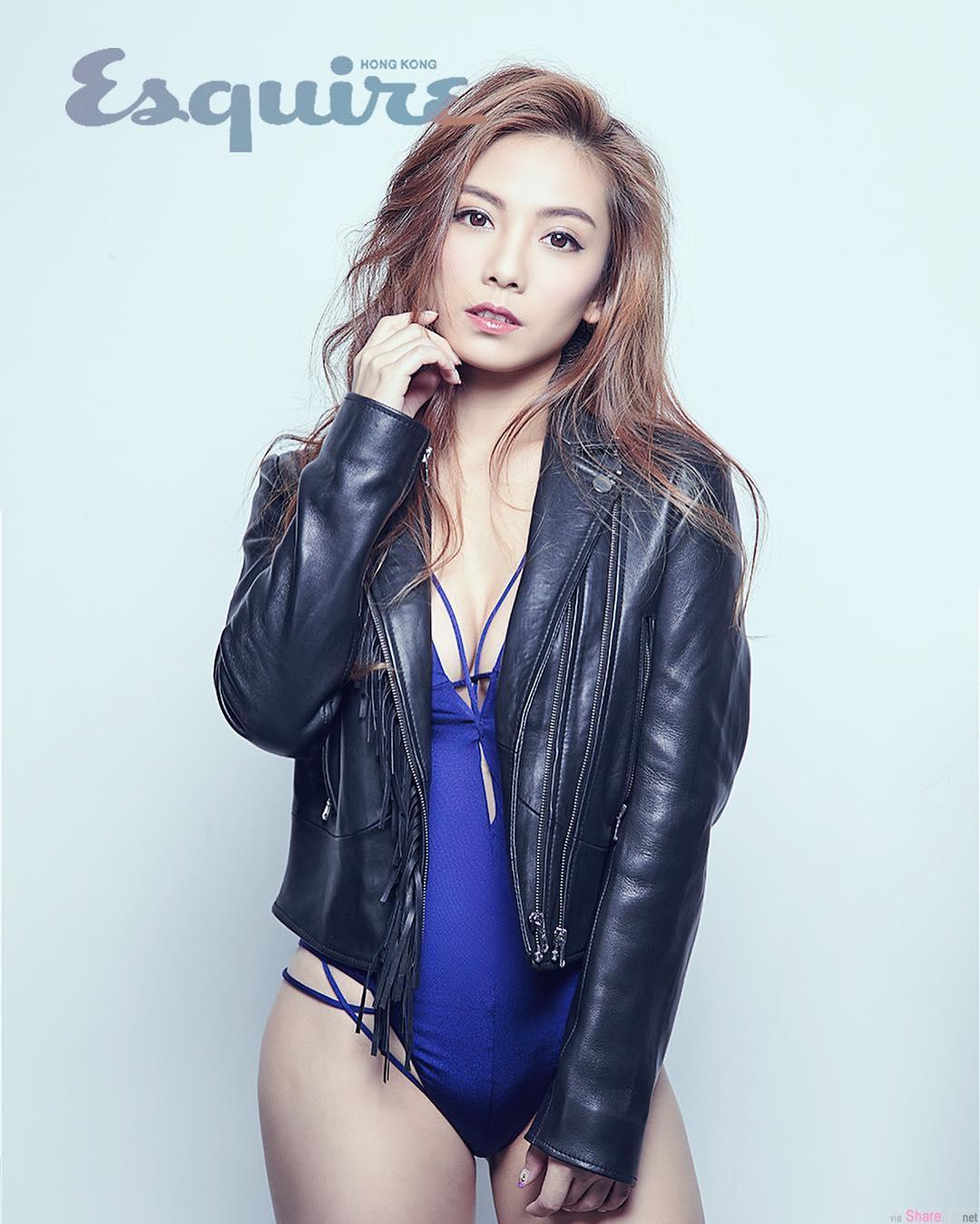 香港艺人邓洢玲 比坚尼大放送 完美S曲线让网友眼睛吃冰淇淋