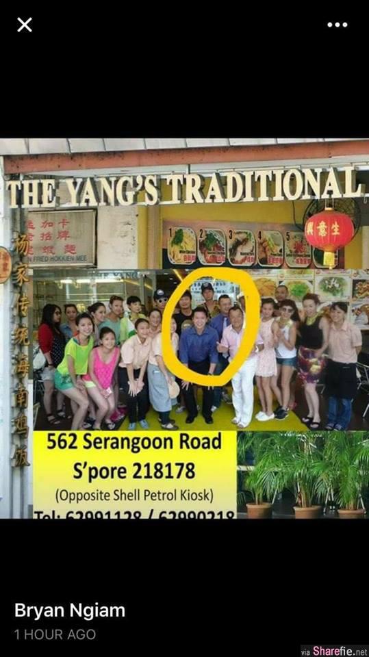 新加坡疯传男子千元大钞付车资还嚣张呛司机「做不了大事」鸡饭老闆:我就是影片中的男子