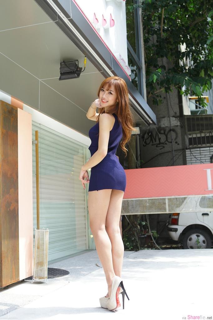 台湾正妹CACA 卡卡儿 甜美性感,脸书直播逼死10万网友
