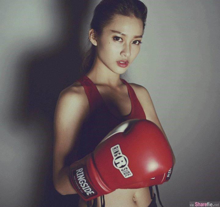 越南拳击正妹 Khả Ngân 受不了的甜度 网友:已融化