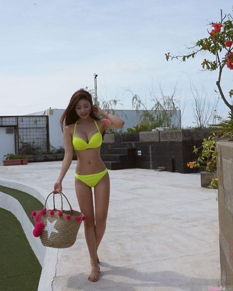 韩国正妹SAM NANI 姣好身材穿上比基尼94吸睛