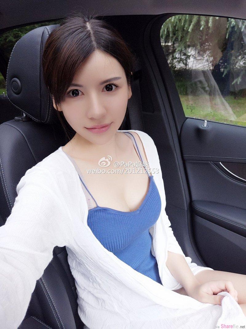 超正中国女模 PaPa妈咪 泳池秀魔鬼身材超吸睛