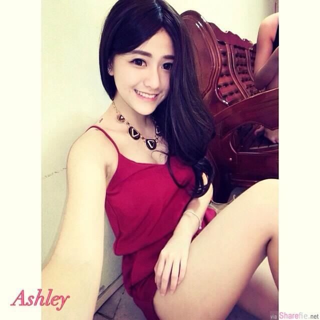大马正妹 Ashley 甜美又好身材会让人窒息