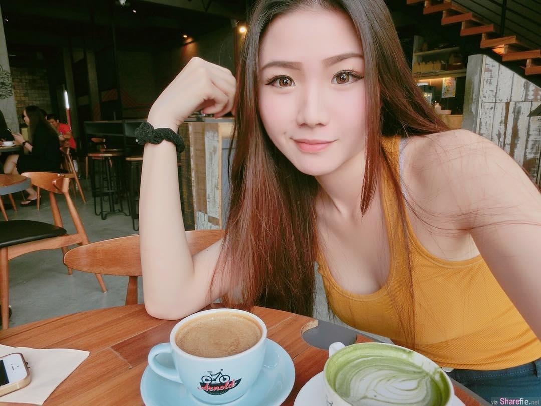 大马正妹Chia Ying 长髮飘逸清新可人 原来是空姐