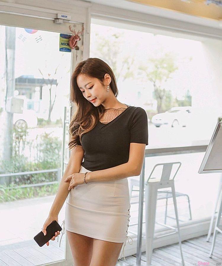 韩国女模 Jace Kim 曲线完全不科学 网: 可恶想捏