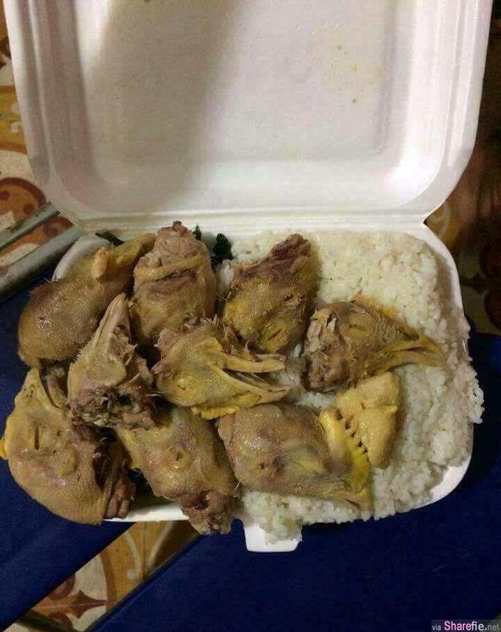 老闆说剩下的「鸡」都给你 回家饭盒一打开,他瞬间崩溃了