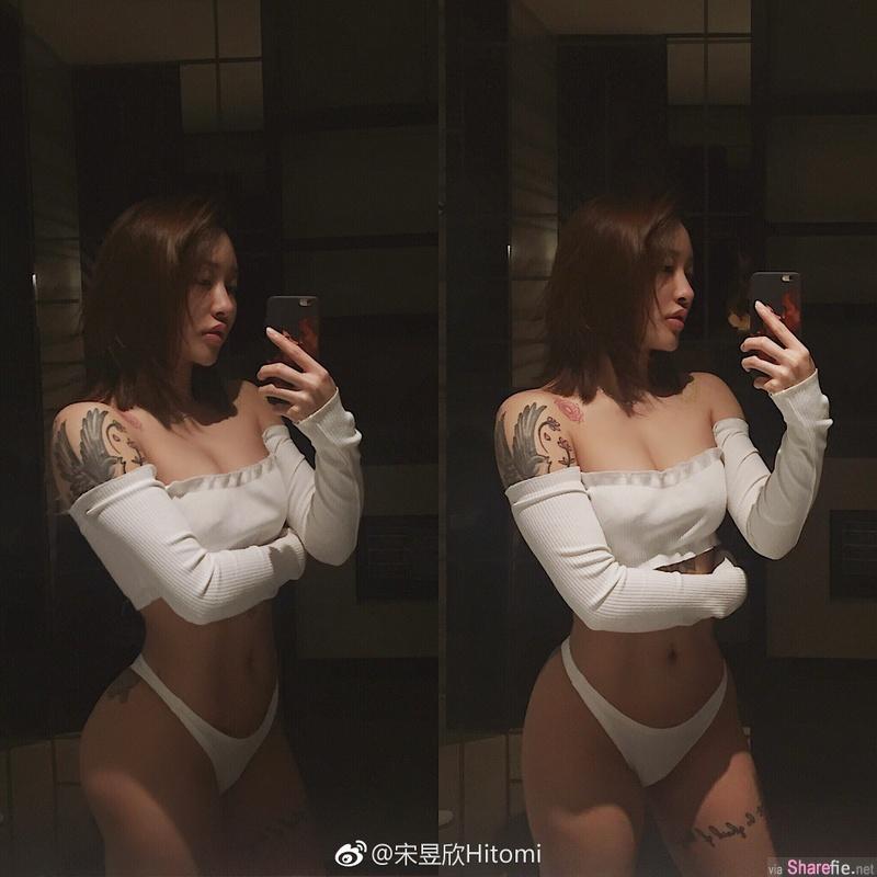 中国「臀神」宋昱欣 蜜桃翘臀超吸睛 网:中国好臀