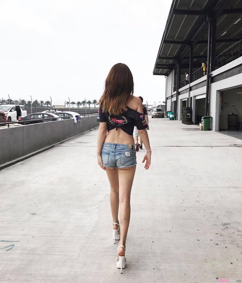 澳门正妹 Annabelle 极品美腿身材不科学