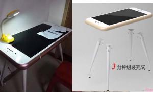 超大的iphone桌子!SIM卡槽一拉开 超狂创意酷到没朋友