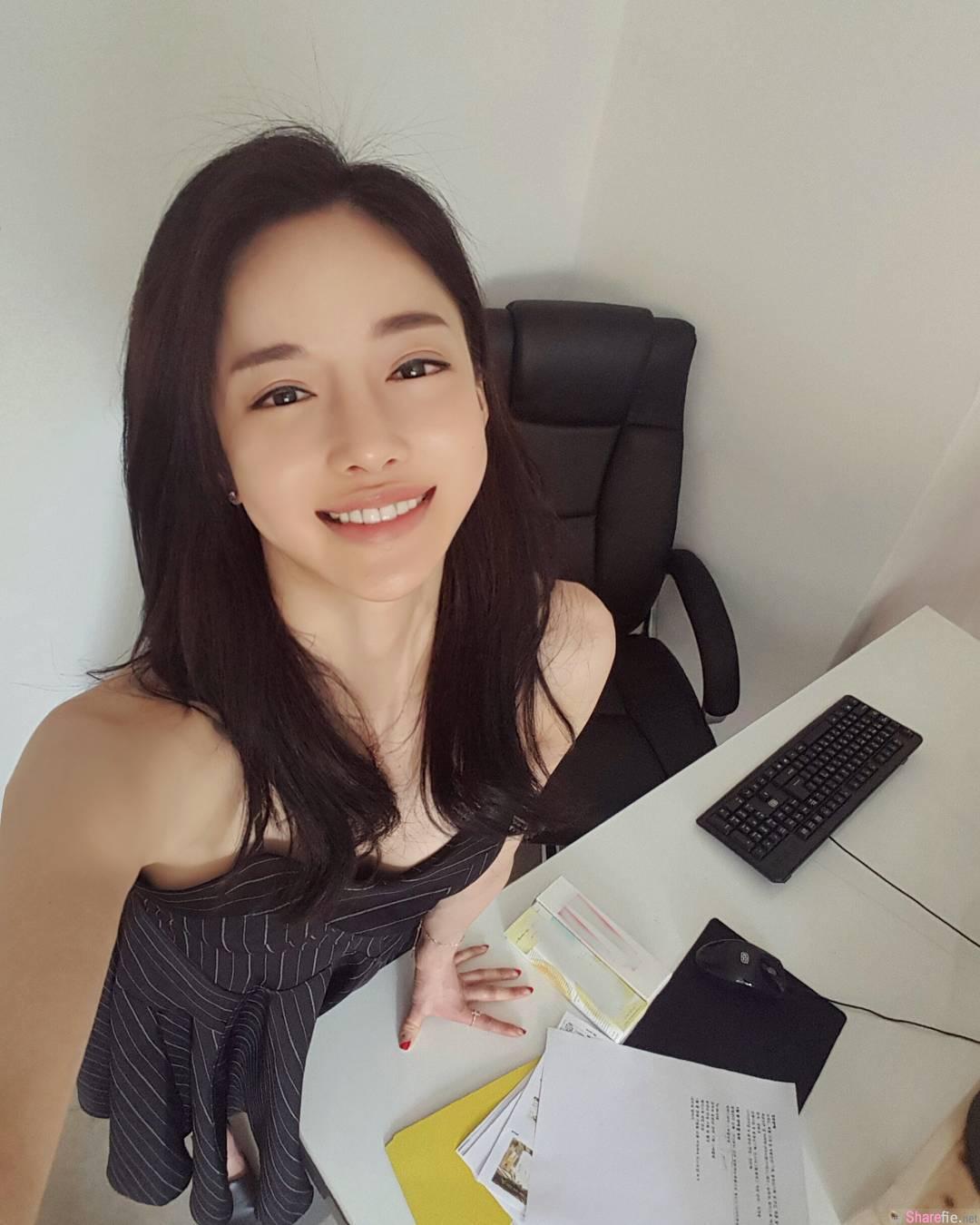 韩国正妹九头身美女 网友:想和你一起学瑜伽