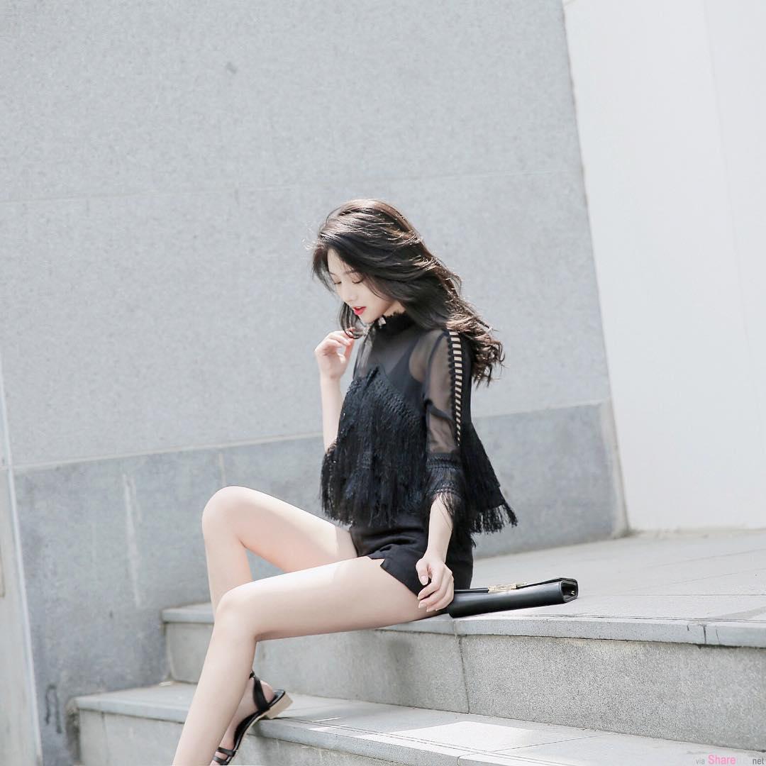 韩国极品正妹Sia,绝美脸蛋逆天美腿让人0.5秒就恋爱