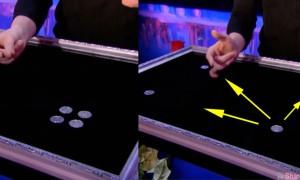 台湾魔术师美达人秀「硬币神技」爆红 网友分享魔术破解