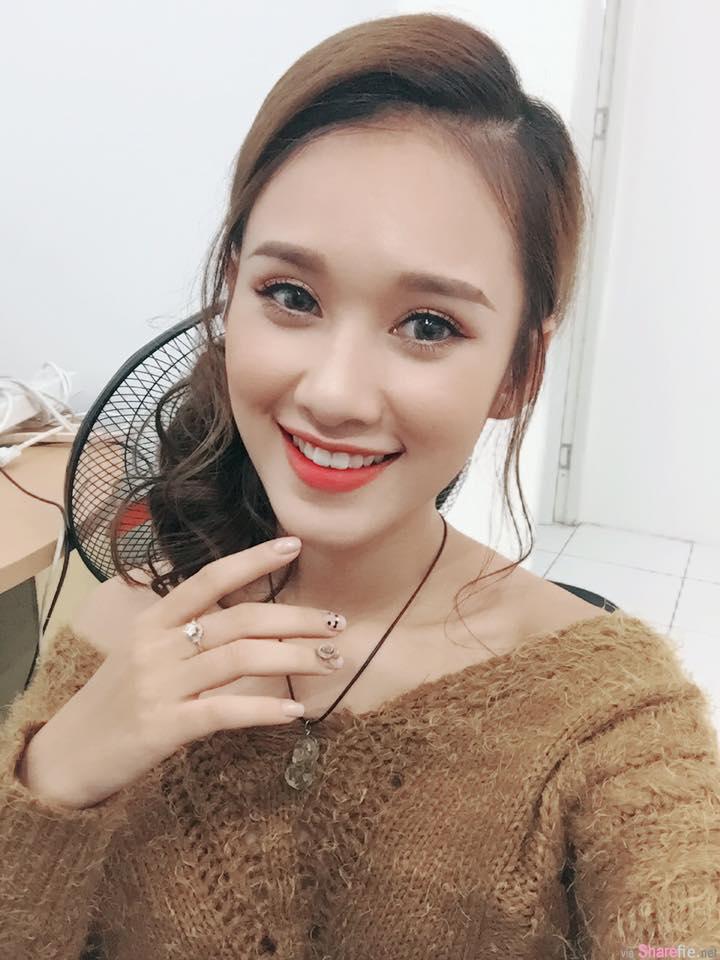 越南陈乔恩 甜美有相似度 网:比本人还要美