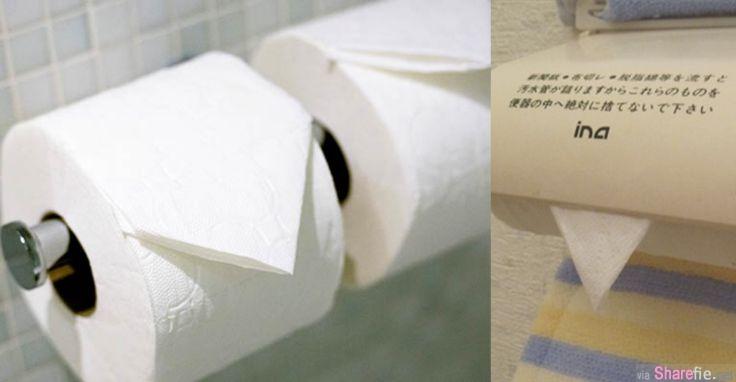 日本卫生纸折三角形千万别碰 背后真相超恐怖