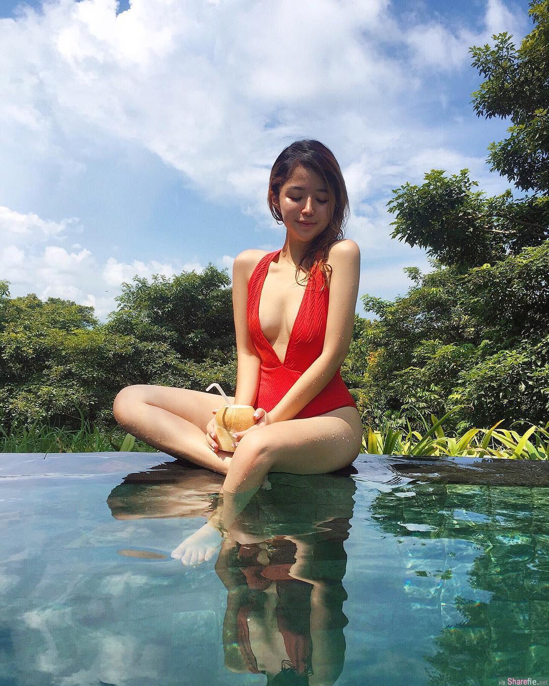 新加坡正妹Jasmine Lyx 性感身材热爆夏天