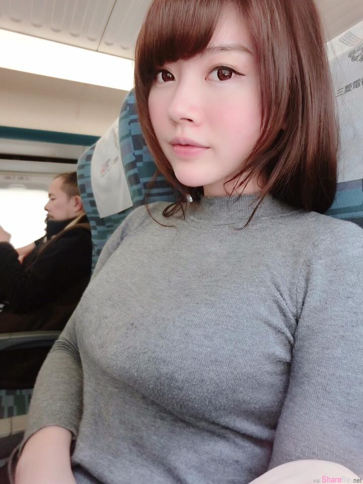 台湾正妹姚采辰试穿比基尼 自拍照让网友鼻血流干