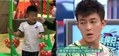 张柏芝带小儿子逛游乐园本来温馨画面,但网友一看觉得「不对劲」 像「那个人」