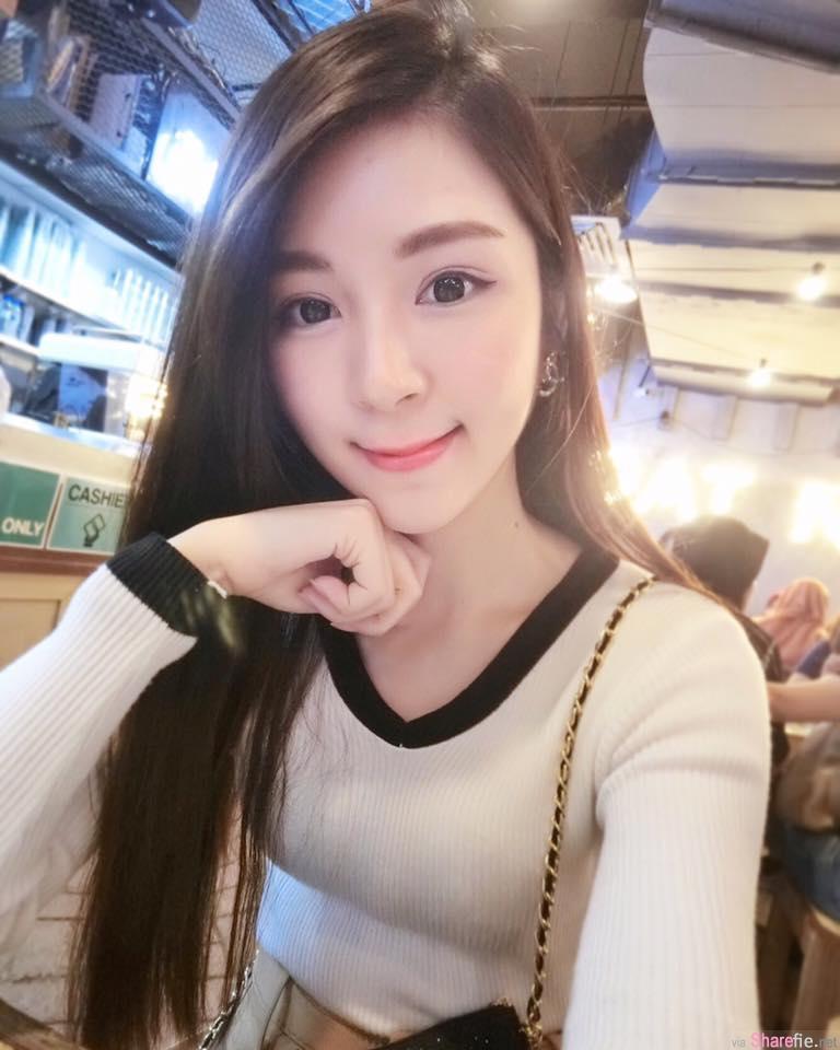 大马吃货正妹Janissa Yee,甜美可爱 ,身材竟还那么瘦。