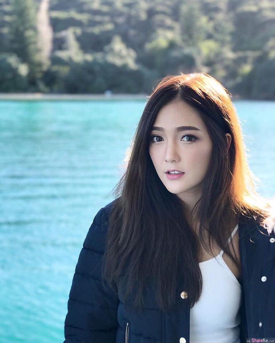 泰国正妹,甜美可人神似杨幂,超兇比基尼让人鼻血狂喷