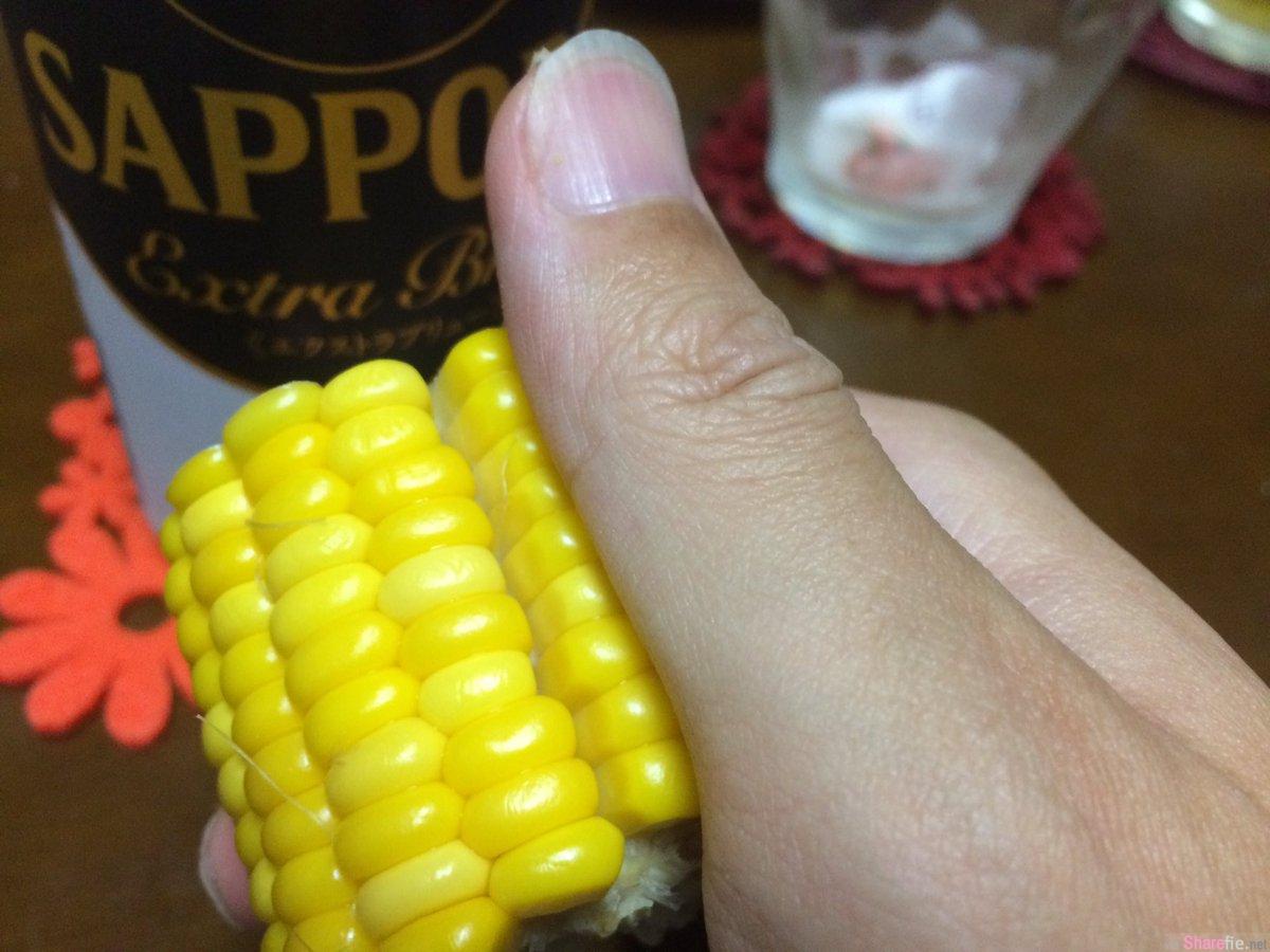日本网友疯传玉米吃法 原来还有比用啃的方法更简单