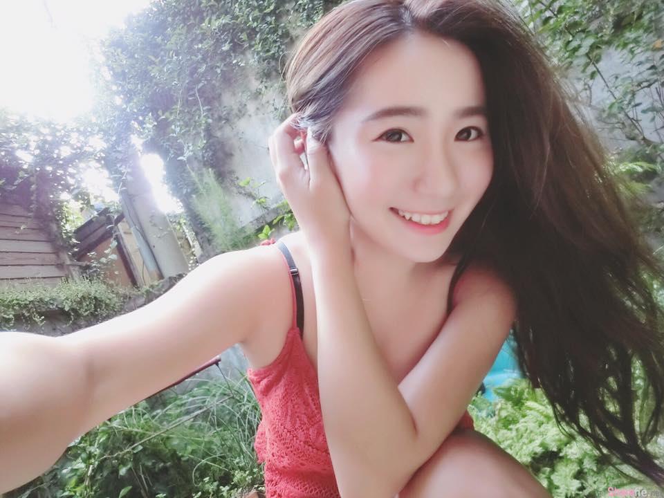 台湾正妹林晏愉 清新甜美超勐曲线根本94天菜