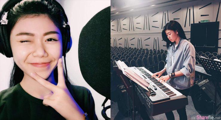 大马网络歌手蔡恩雨 甜美歌声捕获不少男生心 网:刚好遇见你