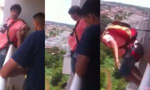 巴西男网购降落伞 然后从自家阳台跳下 结果...