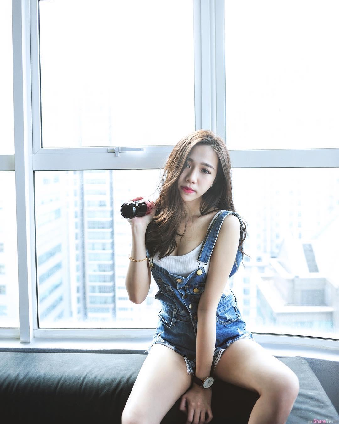 大马甜美气质正妹Fiona Tan