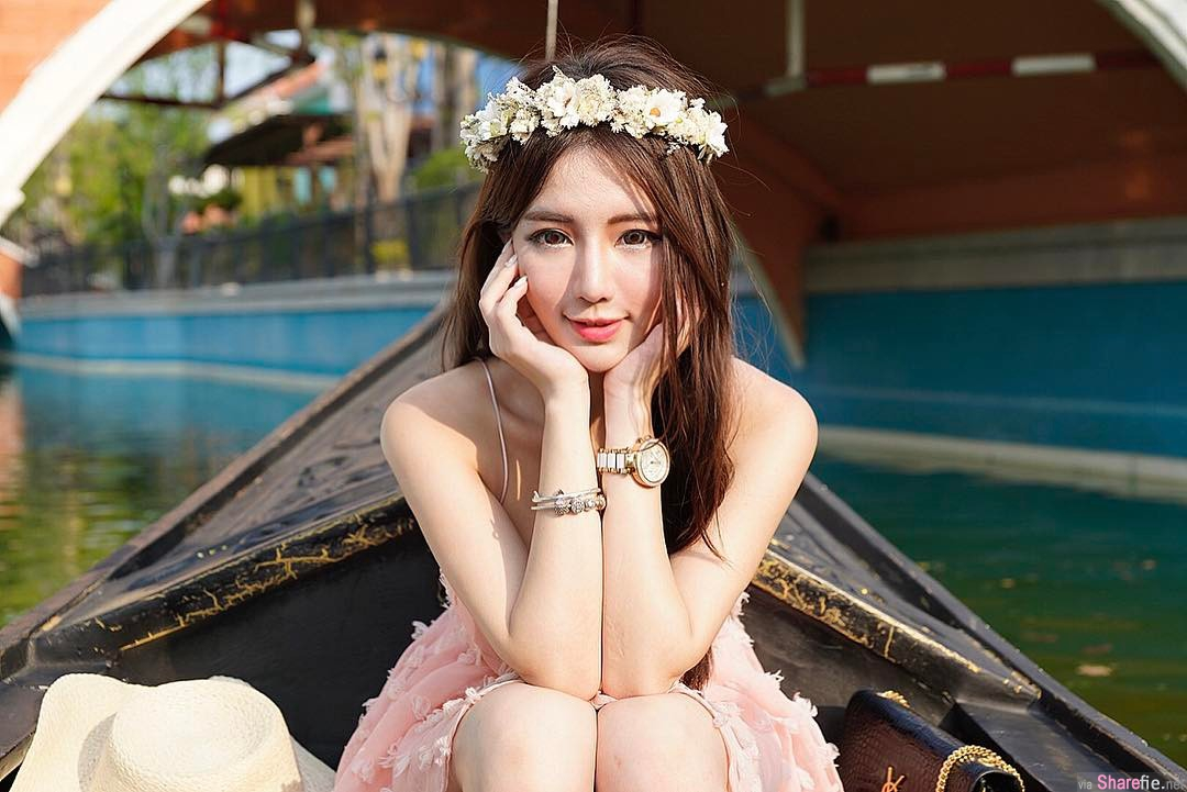 台湾正妹Dora,性感「夹」肉,网友:想吃她的肉