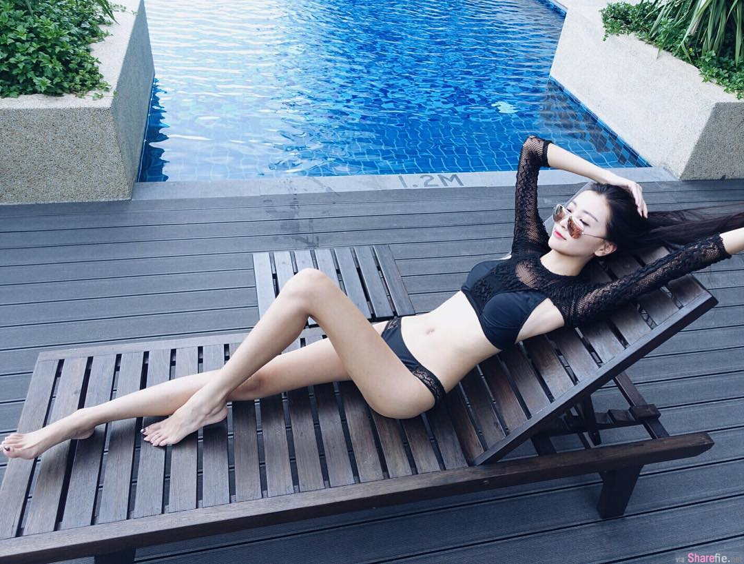 大马新山嫩模正妹YAN RU 修长动人身段 网:把脚交出来