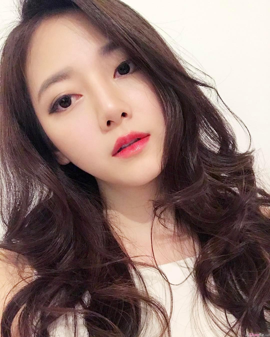 大马沙巴正妹郑雁涵,梦幻级明星脸综合体