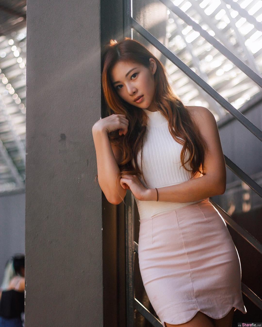 新加坡正妹Nicole Low,曼妙S曲线,网:每一张都很nice