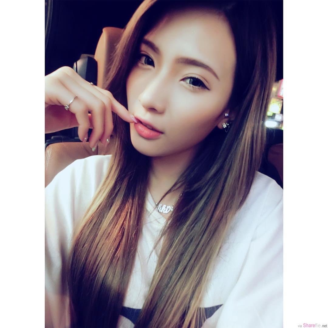 大马正妹Nikki Ong,笑容迷人,性感深沟让人完全无法招架