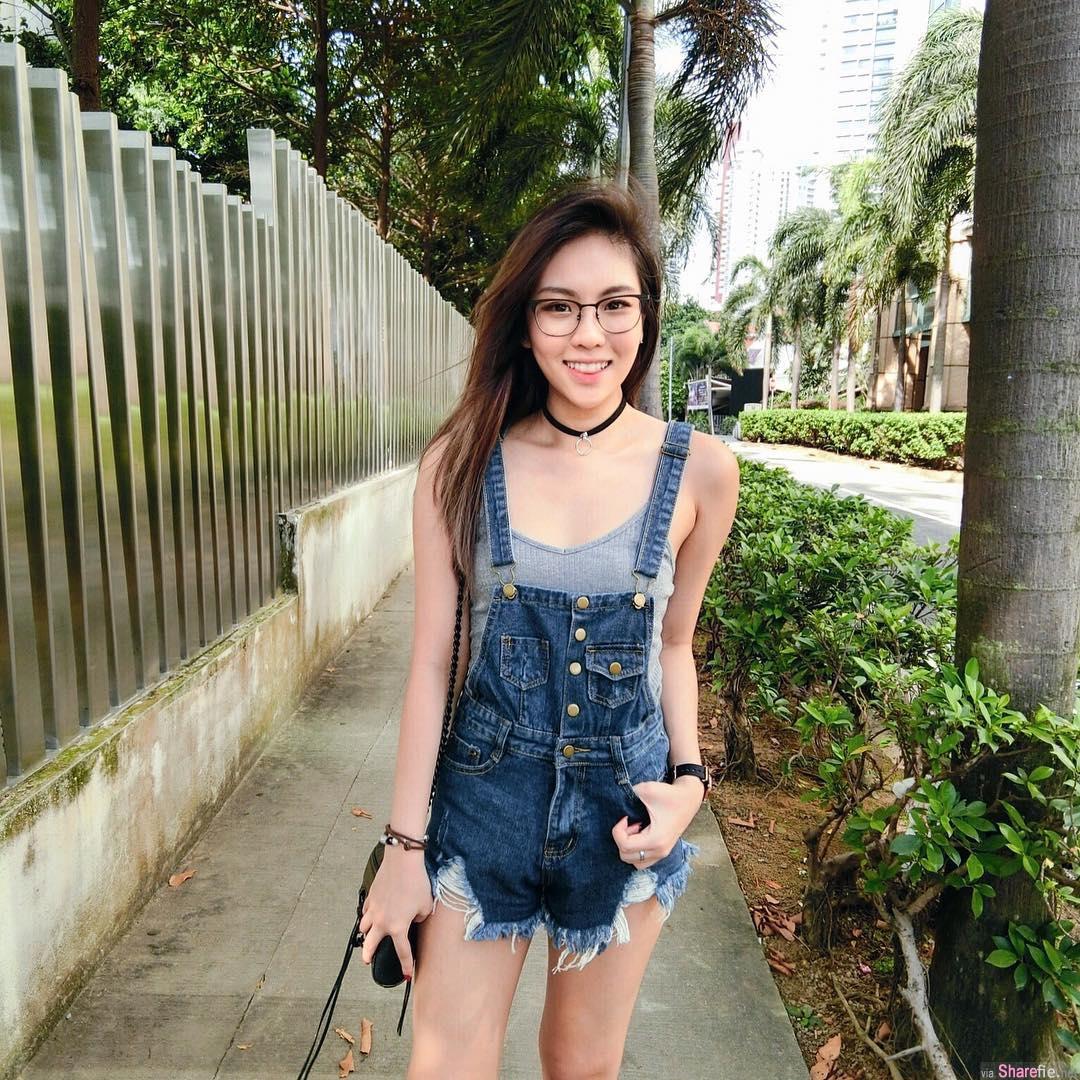 新加坡正妹JamieTan清新气质超迷人