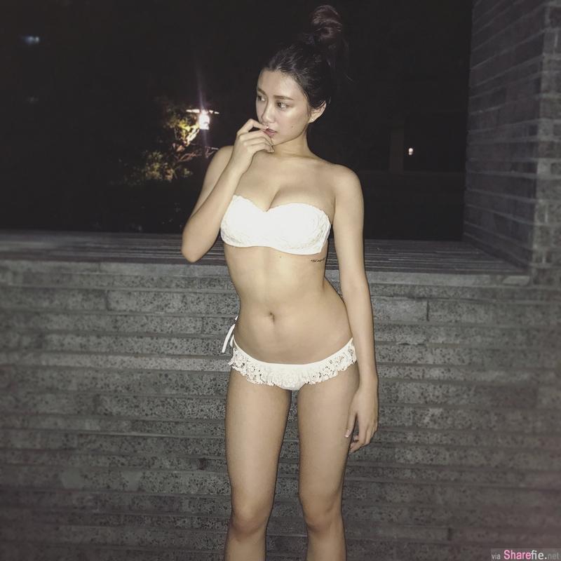极品S曲线,顶级正妹贴身装超性感,泳装展现傲人身段