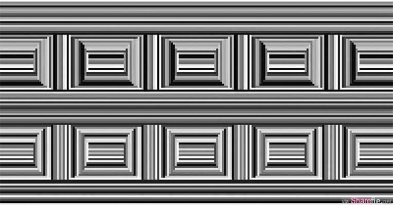 这张黑白直线条的图里偷偷隐藏了16个圈圈 很多人第一眼都被骗倒