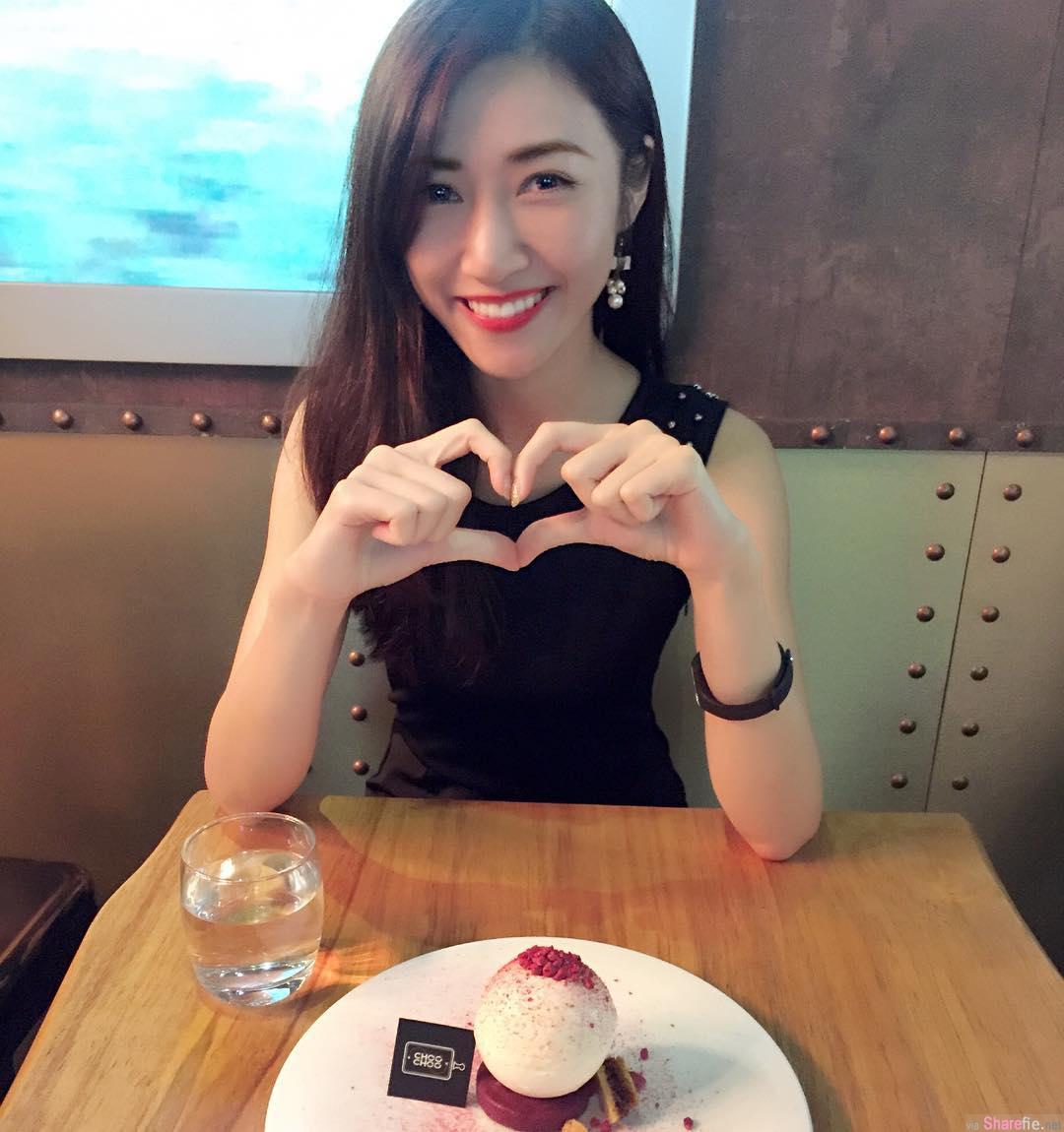 香港正妹Ivana Wong,修长身影,九头身黄金比例好吸睛