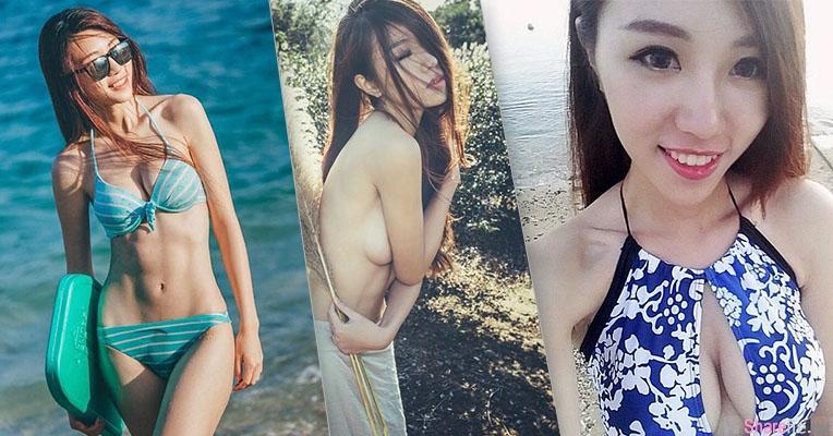 夏天就是要去海边玩,Natalie凯欣完美诠释夏天最美的曲线