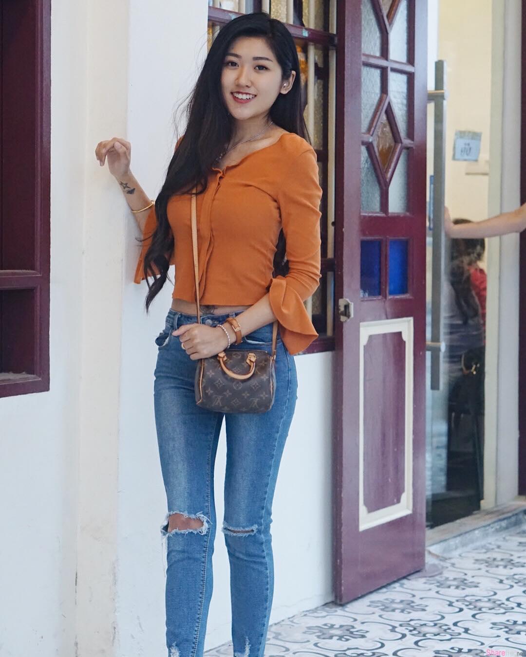 大马槟城正妹Michelle长髮飘逸气质好迷人