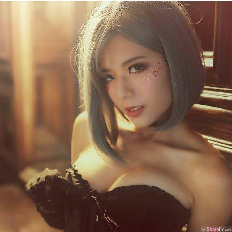女模方唯真,超兇身材,这张「侧乳外洩照」IG被赞爆