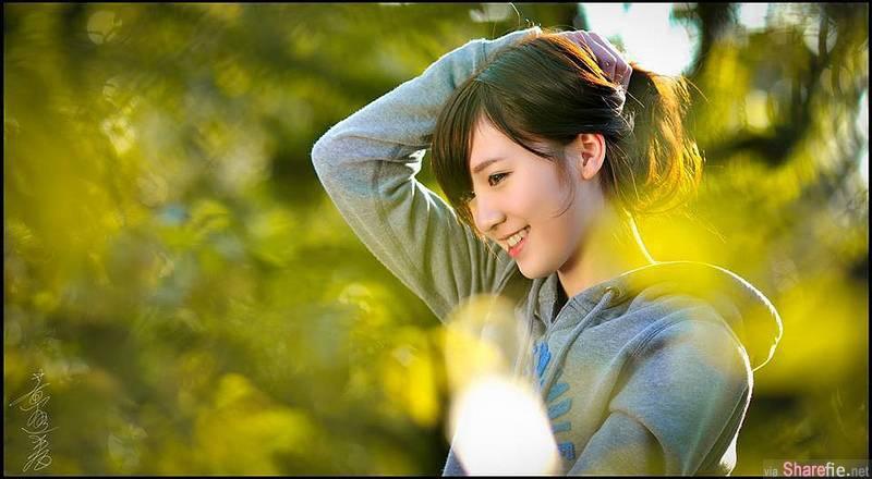 校花正妹吕妍萱,自然界最迷人风景