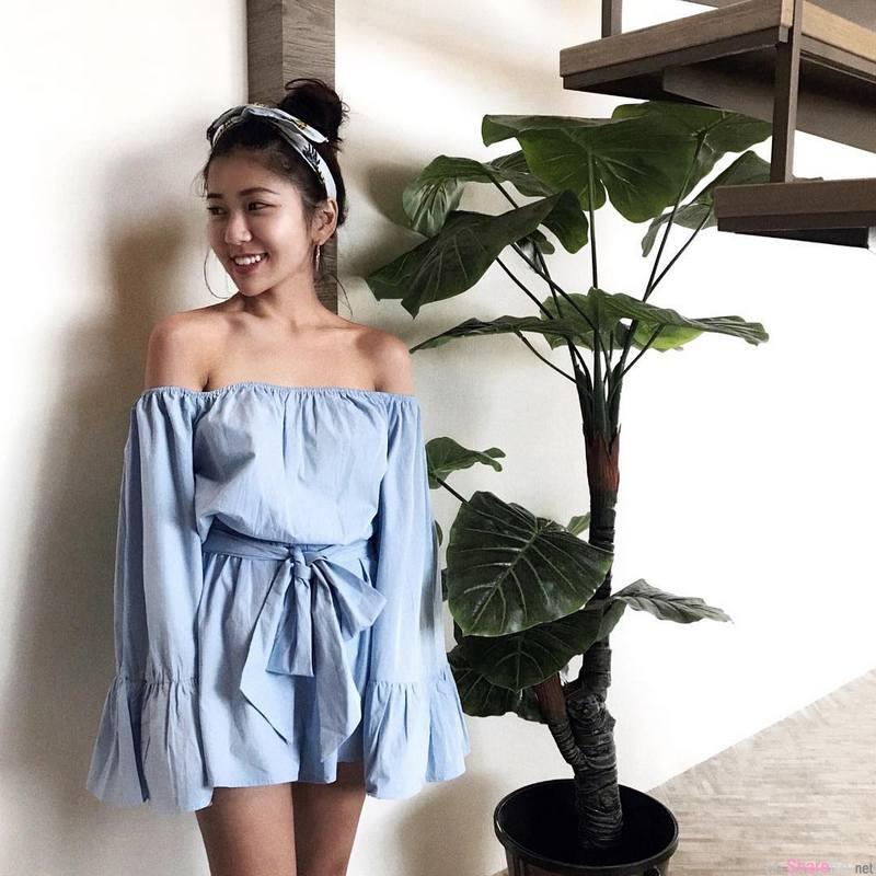 阳光美女Johanna Qiao乔海娜,为海而生