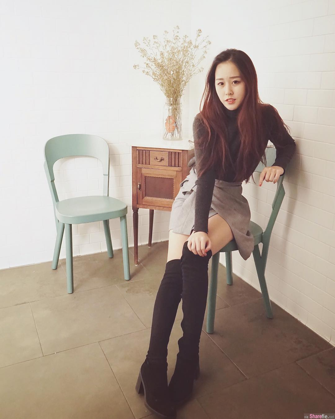海外留学正妹Evy Lu,21岁生日大解放