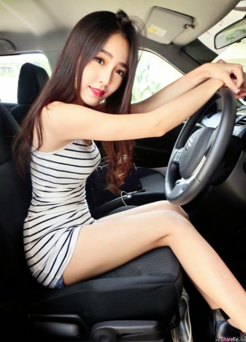 大马长腿女神黄薏玲Elaine Ng,白皙玉腿回头率很高