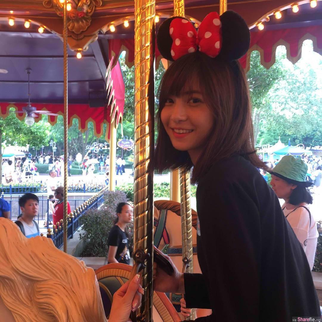 空灵短髮正妹,网友:以为是日本人